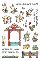 Bunny Band Pals Clear Stamp